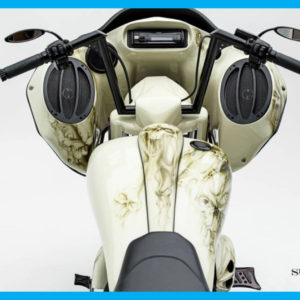 Harley Cutting Edge Smooth Dash Tank Kit CVO 2009 to 2018