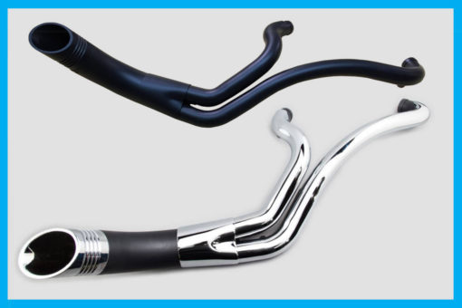 Harley performance exhaust Up Yours by John Shope