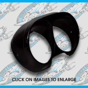 Harley Road Glide gauge bezel housing