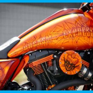 Harley Cutting Edge Gas Tank Kit Street Glide Road Glide 2008 To 2018