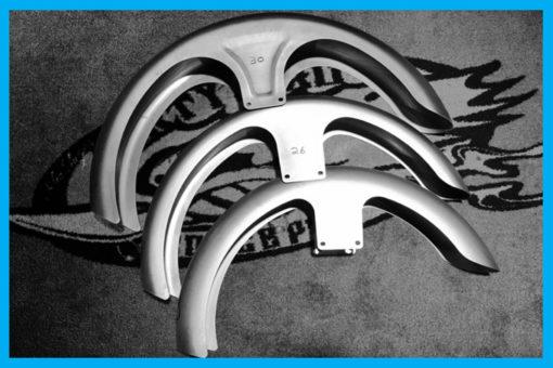 Harley wrap metal front fenders