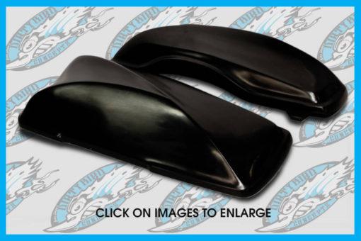 Dirty Bird Concepts Harley motorcycle saddlebag lids