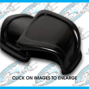 Harley Road Glide glove box doors