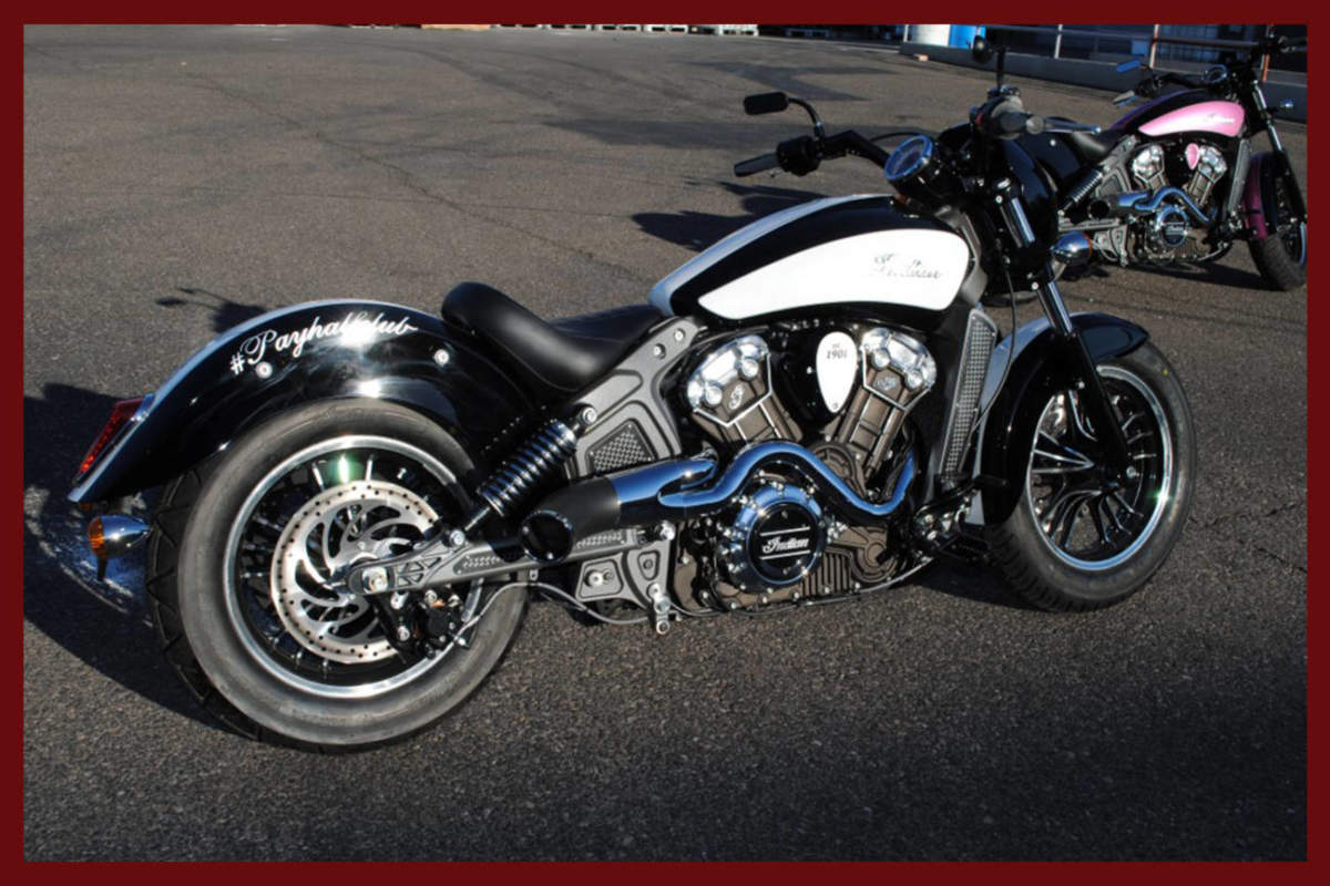 Indian Race Tech Series Scout Performance Exhaust 2014 to 2019