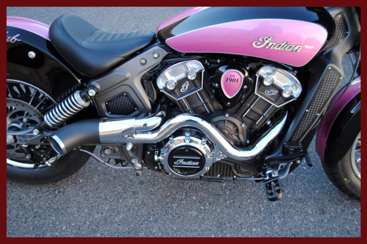 Indian Scout Exhaust Race Tech Performance Exhaust Dirty Bird Concepts