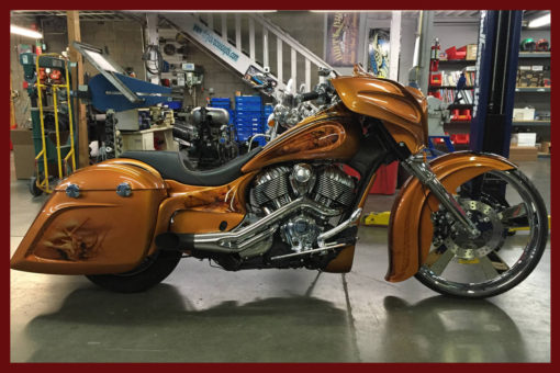 Custom Indian Motorcycle kit by John Shope