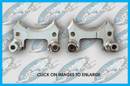 Harley slotted front fender mounting links