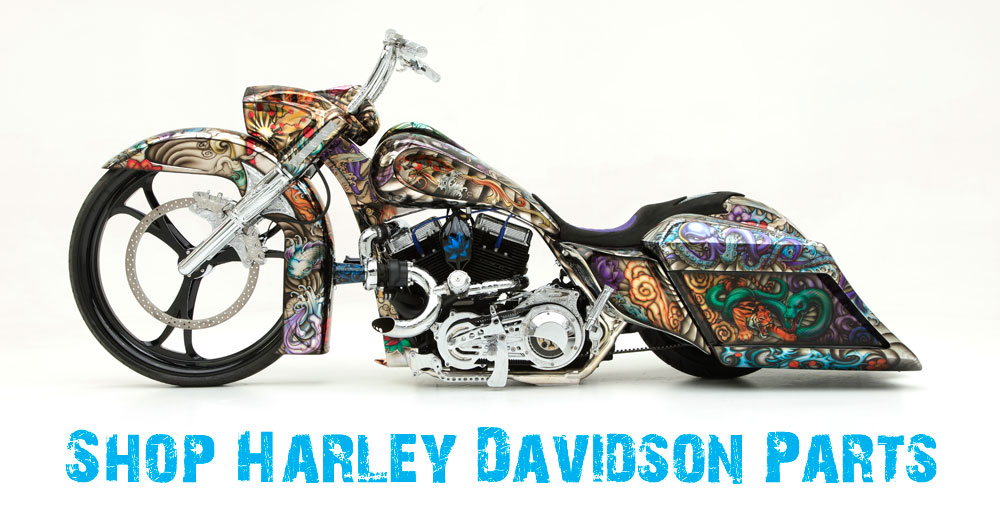 Harley Davidson parts by John Shope