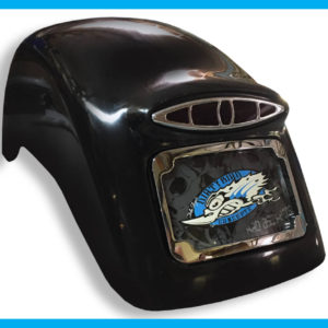Harley Softail rear fender race style