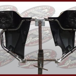 Indian Motorcycle leg warmer speakers